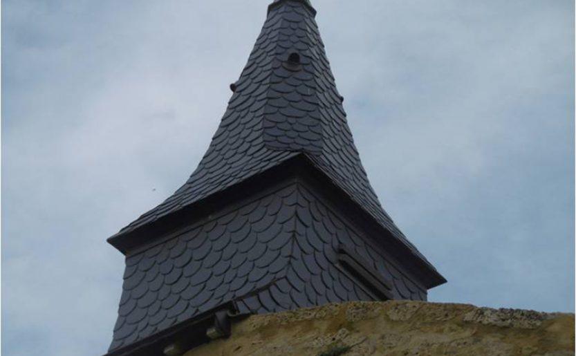 Clocheton du cimetière de Marville (55)