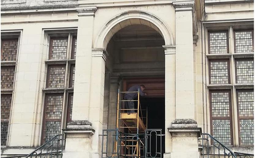 Rénovation Palais du Tau (51)