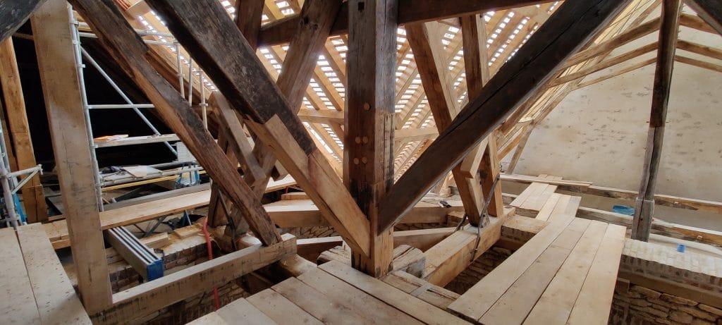 Eglise Saint Maclou Bar sur Aube renovation